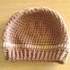 Unisex Chocolate Beige Winter Hat