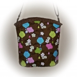 Tootles Boutique Bag - Crossbody Michael Miller Lovely Lanterns