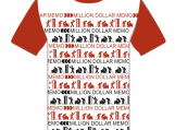 "Unisex T-shirt ""Million Dollar Memo"""