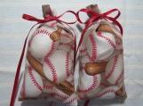 """Baseball 4""""X2"""" Sachet-'Spiced Plum' Fragrance-Cindy's Loft-336"""