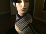 Sports - Hat with Ribbed Scarf