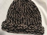 Infant Black and Gray Hat