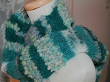 Under a Stormy Sky - Handknit Scarf - Witchery