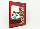 Love Handmade Paper Quilled Card