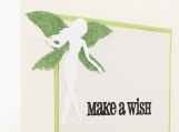 Green Fairy Birthday Card