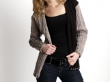 Black & Beige Lady's Sweater
