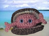 Happy the Clam - amigurumi pattern