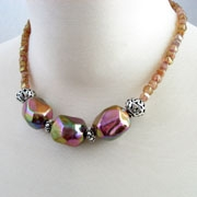GalleriaLinda Handmade Beaded Necklace