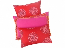 ON SALE: Rose pink pillow