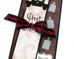 bookmark and card combo