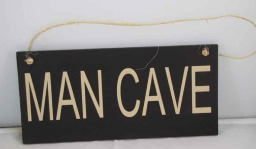Rustic Man Cave Sign