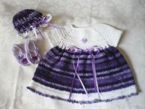 Lush Lavender 3 Piece Dress Set from emjcreations
