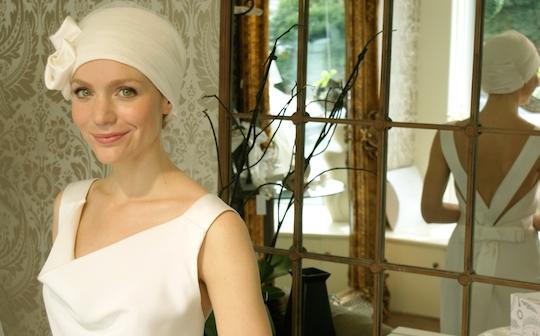 Suburban Turban bridal headwear for hair loss range, 2014