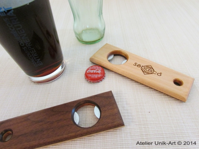 Handmade bottle opener.