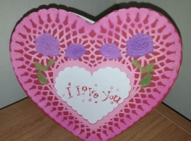 Heart-Shaped Card