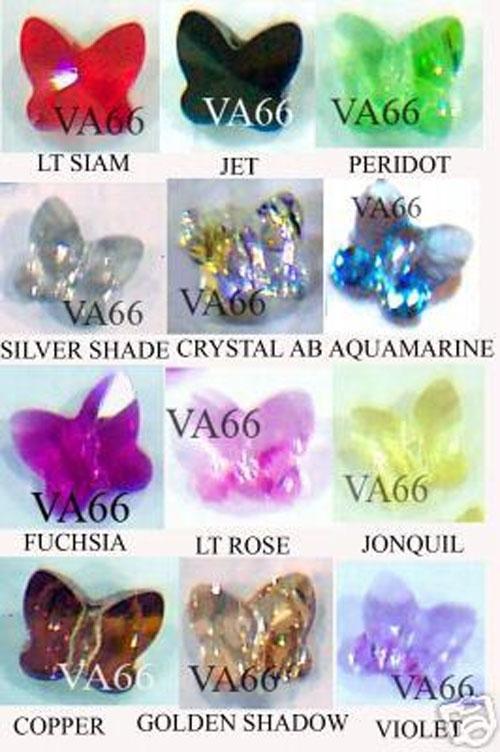 6bbee21cfc9cf 925 Sterling Silver Swarovski Crystal Charm Bracelet Butterfly