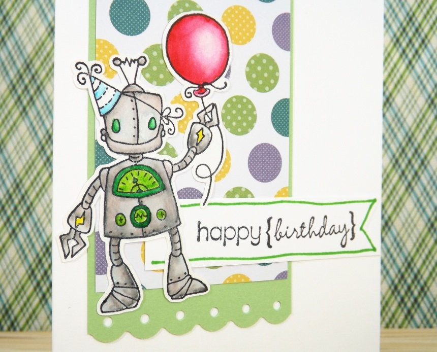 Robot Boy Birthday Card By Fairy Cardmaker Greeting Cards
