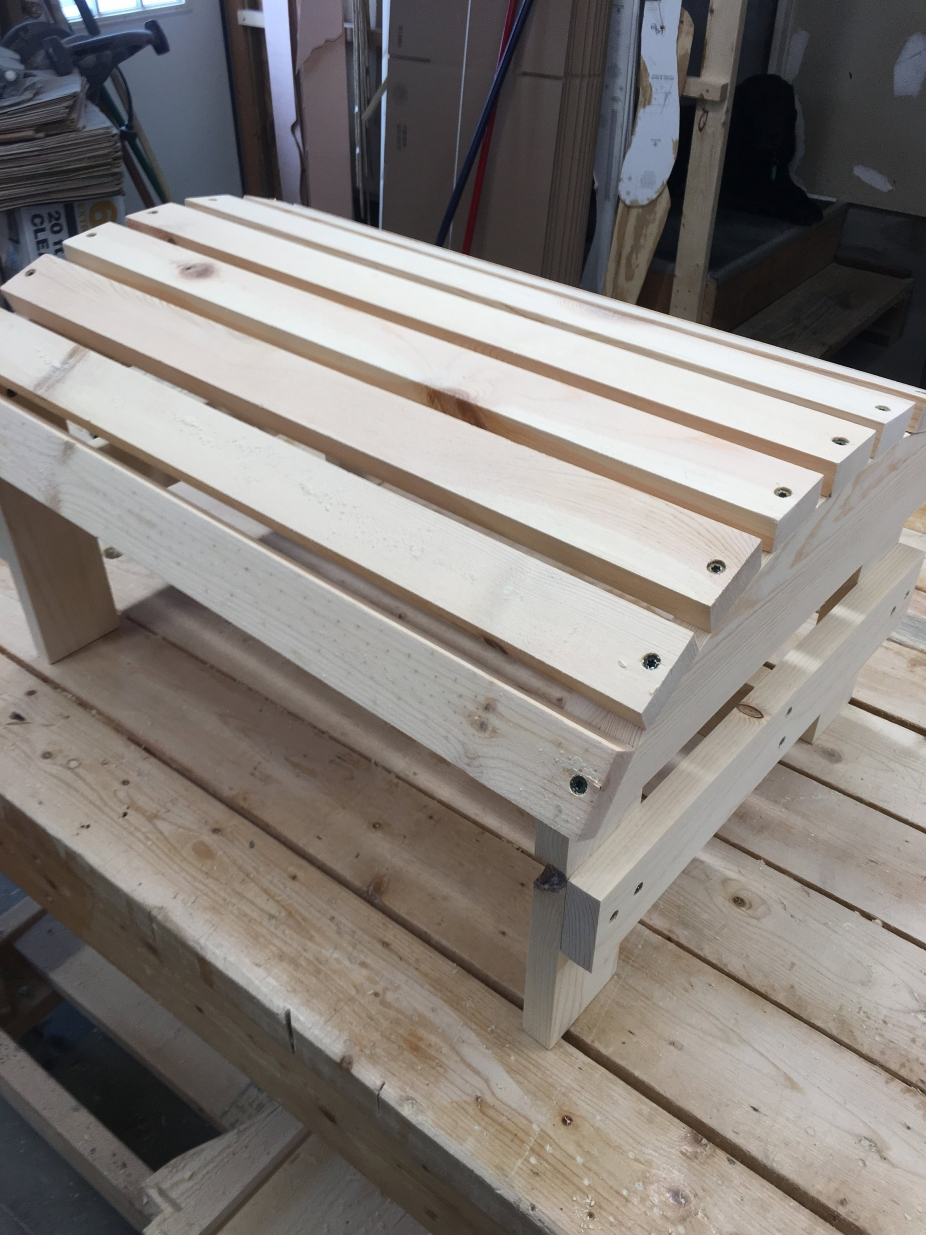 Adirondack Footstool By Picwood Usa Handmade Furniture