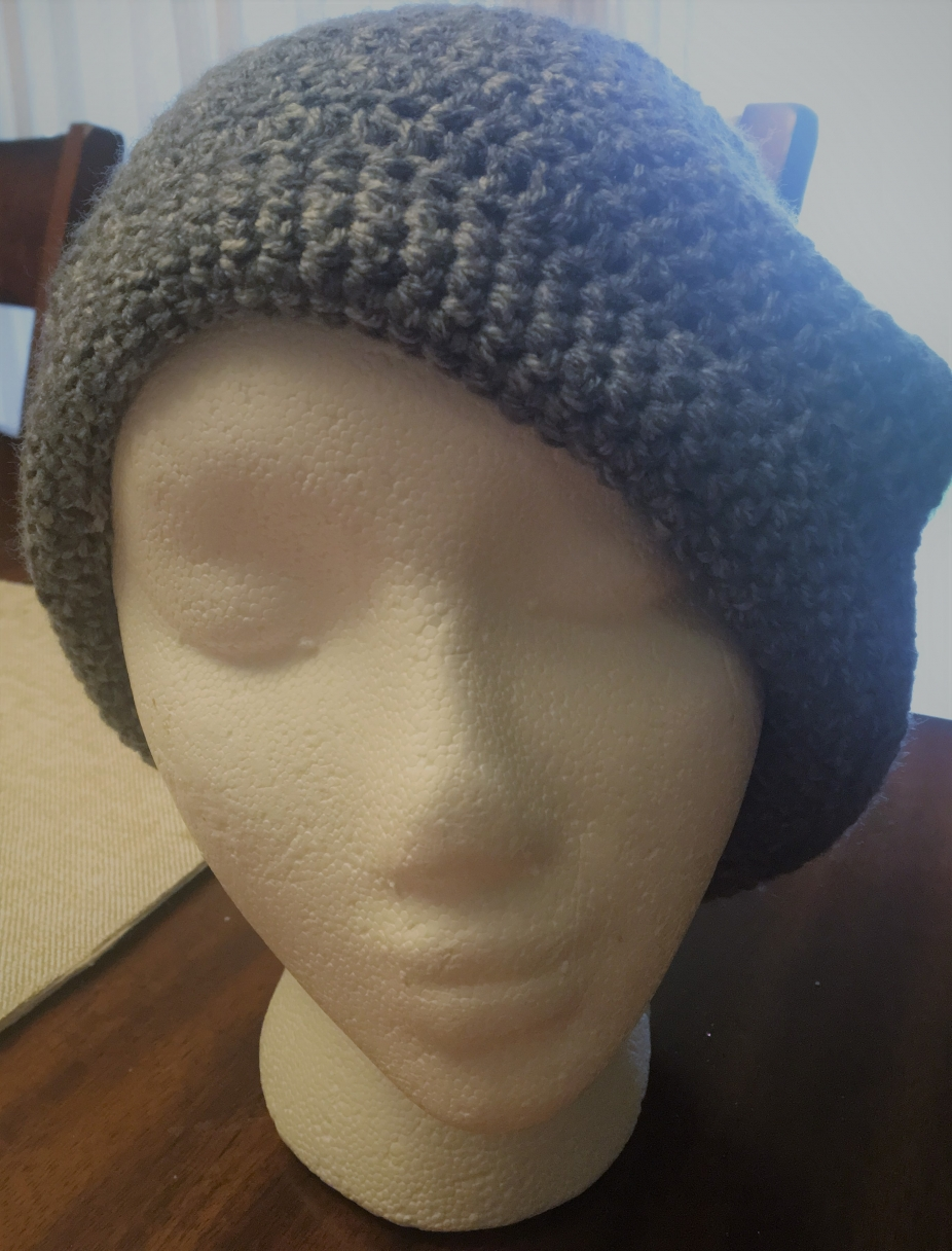 2283dabb978 Basic Slouchy Beanie (includes a free gift by Gould Style Crochet