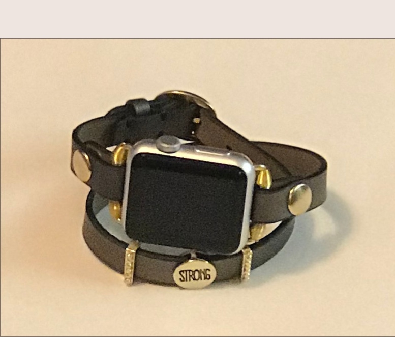 7dd11c6fc Bronze Strong Apple Watch Band by Tranquilitys Designs