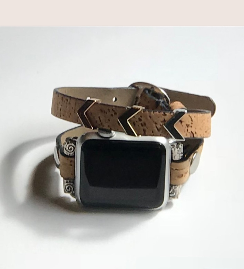 836edd484 Cork Double Wrap Band by Tranquilitys Designs