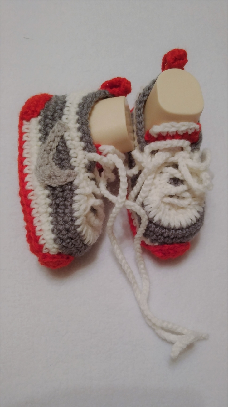 Crochet Booties Sneakers Crochet Baby Shoes By Lovingcrochet