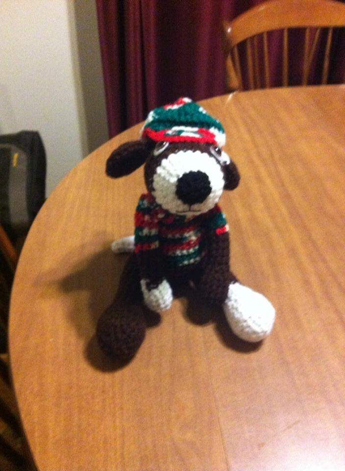 Cute Crochet Dog By Gould Style Crochet Amigurumi
