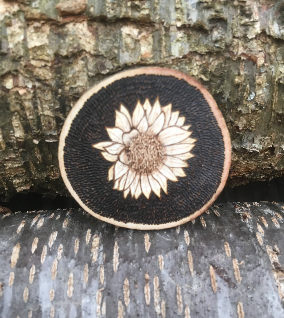 Sunflower Magnet Wood Magnets Gifts For Mom Sunflower Decor