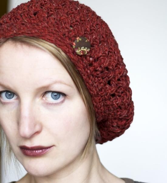 Pattern Knittles Slouchy Crochet Beret Hat Pattern By Knittles