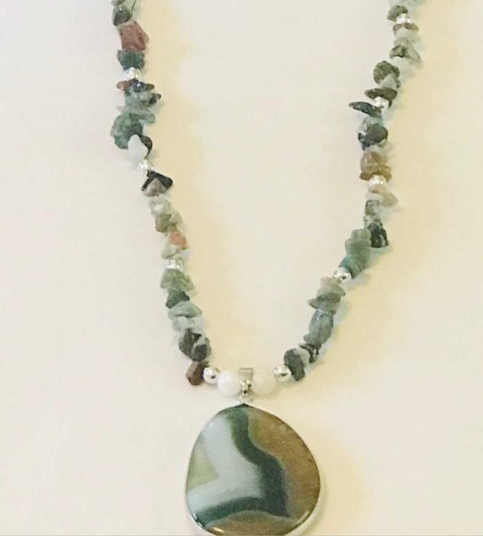 7352d600cbd75 Green Aventurine Necklace
