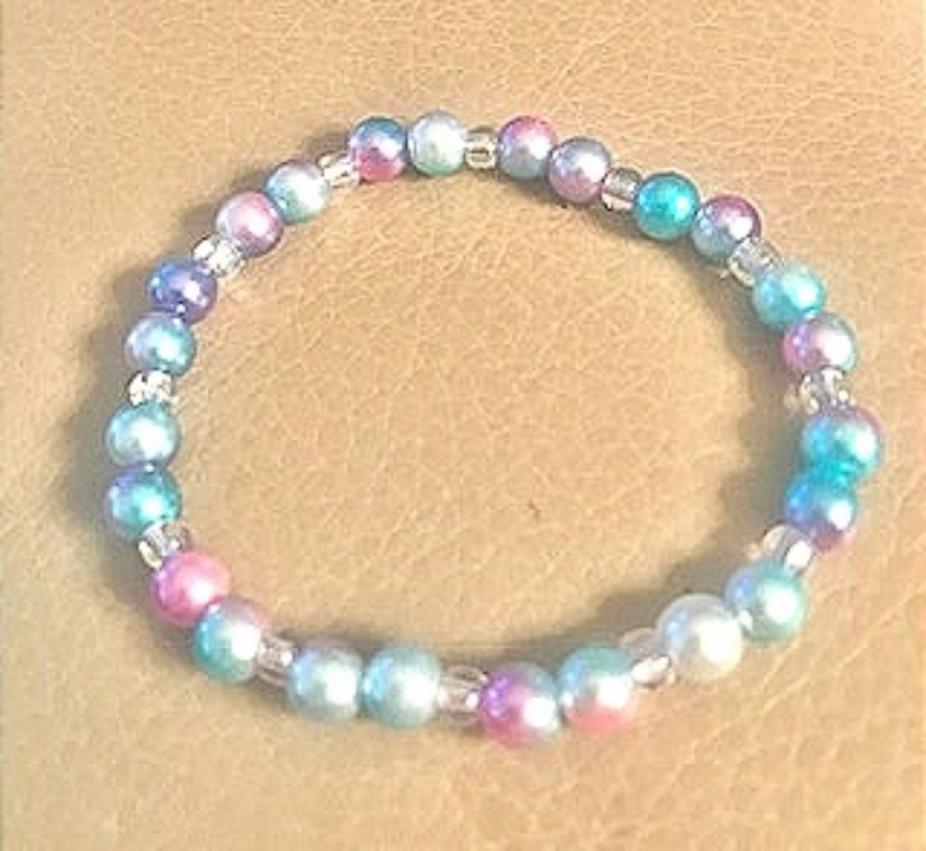 Kids Stretch bracelet by gmas7 creations, Bracelets