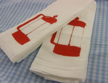 French Press Kitchen Towel Set Red By Moxie Madness