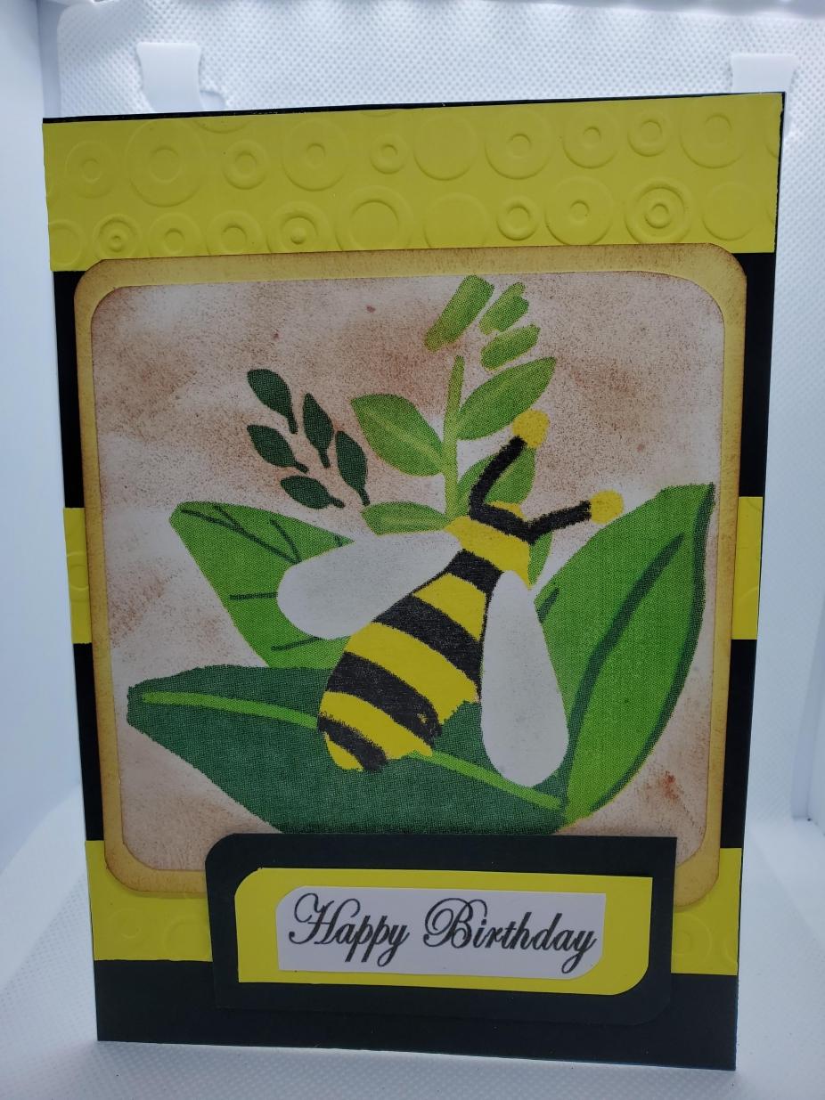 happy birthday bee cardnj creative cards greeting cards