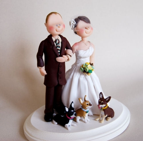 Wedding Cake Topper Custom Made By Little People