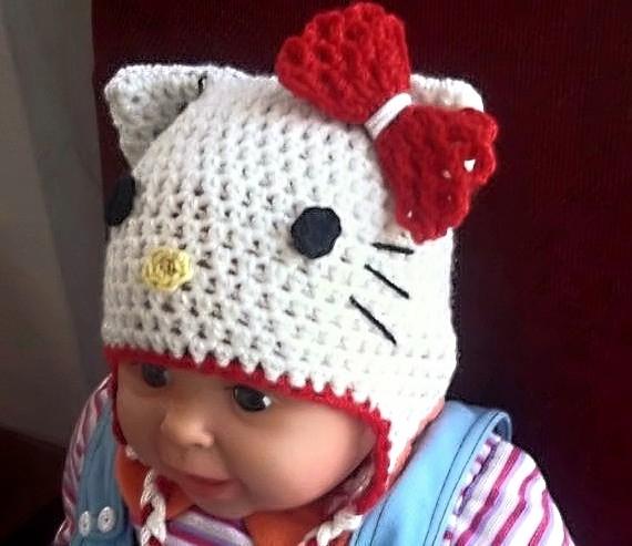 Hello Kitty Hat Crochet Pattern 72f5264b371