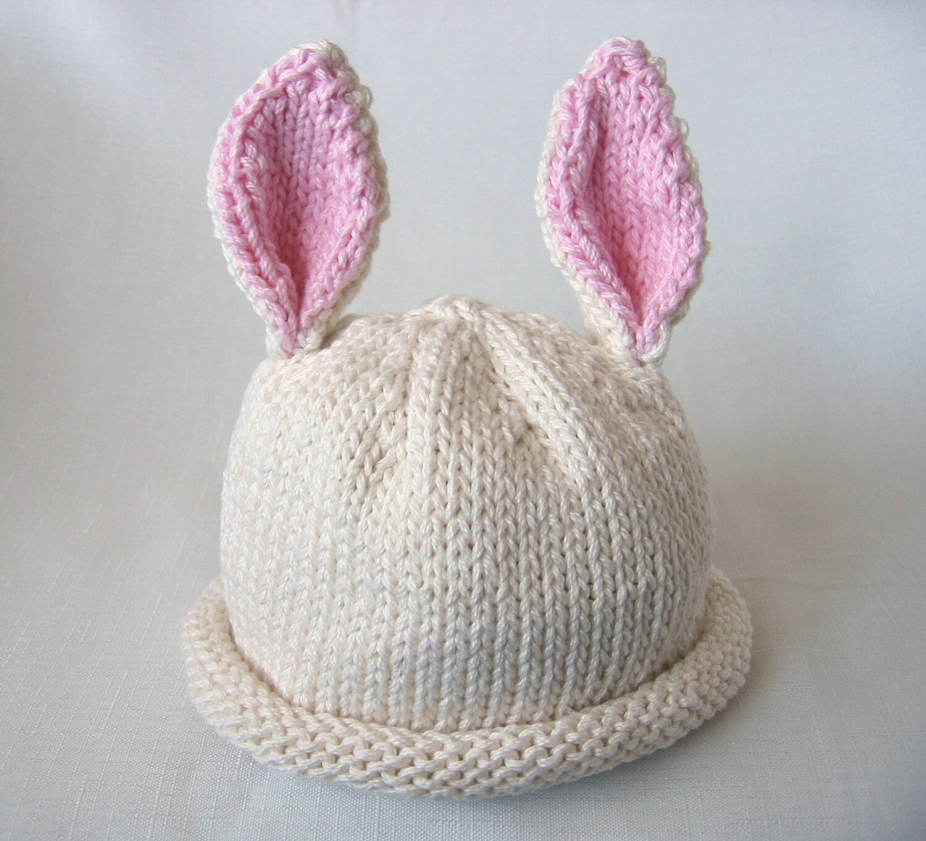 Boston Beanies Knit Baby Bunny Hat Pattern By Bostonbeanies