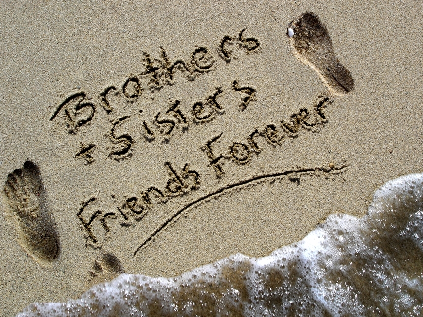 brothers and sisters friends forever by bethpeardonprods