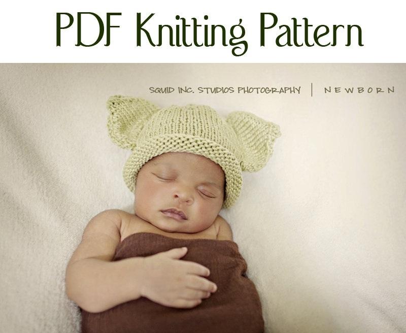 Boston Beanies Knit Baby Yoda Pattern By Bostonbeanies Knitting