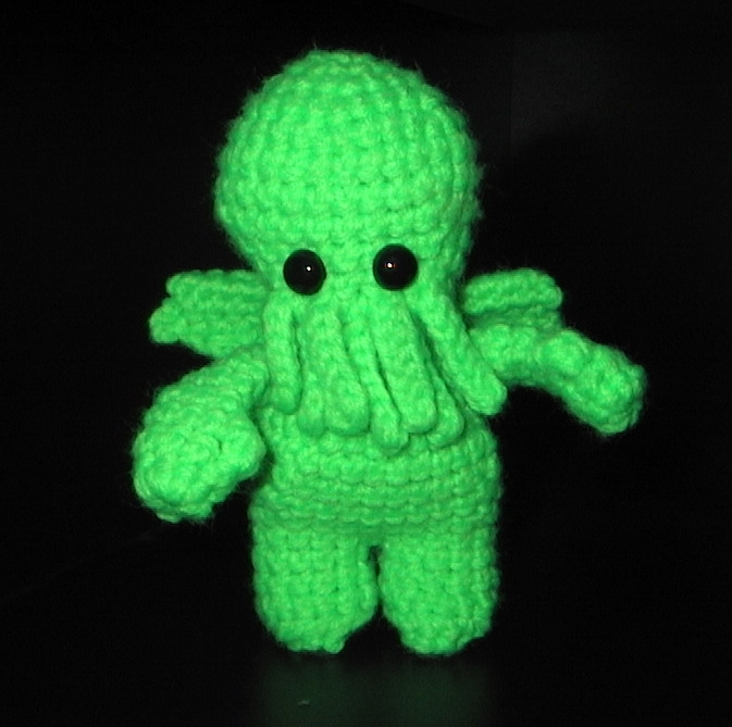 Cthulhu Amigurumi Pattern To Crochet By These Loving Hands