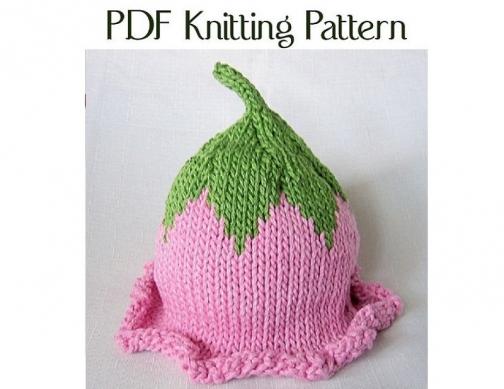 Boston Beanies Knit Baby Flower Fairy Hat Pattern By Bostonbeanies