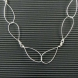 sterling silver wire necklace