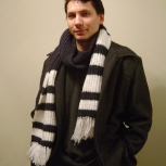 Beautiful scarf for a guy
