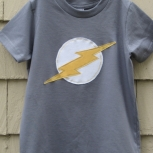 Short Sleeve Lightning Bolt Tee