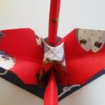 """Japanese Washi Paper """"Owl"""" Crane"""