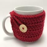Red mug cozy