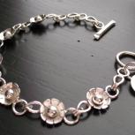 Flower Link Bracelet