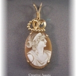 Antique Shell Cameo