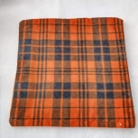 Orange Kilt facecloth