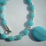 Tropical Sea Blue Necklace