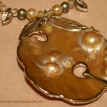 Blister Pearl Necklace